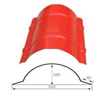 Tile Roof Ridge Cap Roll Mesin Pembentuk