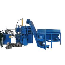 Copper Granules Steel Chips Briquette Press Machine