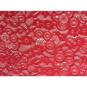 Jacquard Nylon Span Lace Fabric