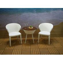 Патио отдыха Открытый Открытый ротанга мебель стул стол набор