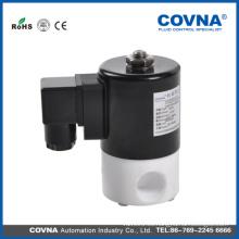 1/2 solenoide latón normalmente cerrado electroválvula / prueba de corrosión