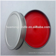 Bougie à thé en porcelaine en forme de dôme