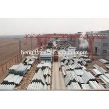 ERW ASTM A53 gr.b Tuyau en acier (galvanisé)