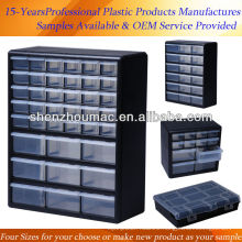 plastic drawer storage tool boxes for screw
