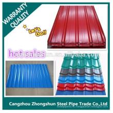 Построить водонепроницаемую плитку композитного материала крыши цеха