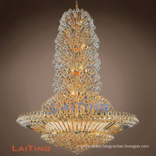 Luxury Classic Crystal Chandelier Large Big Hotel Lobby Chandeliers Cristal Lighting Pendant Lights