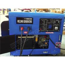 5кВт портативный бесшумный дизель-генератор
