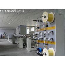 Top Brand Quality FTTH Fiber Drop Cable Machine/ FTTH Fiber Drop Cable Production Line