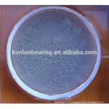 AISI316 AISI304 AISI440 Roulement à billes AISI420 à billes en acier inoxydable 4.75mm