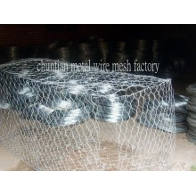 Hot DIP Galvnized Gabion Box Used for Stone Cage