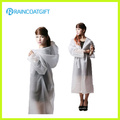 Fashion Design Transparent Unisex PVC Raincoat Rvc-019