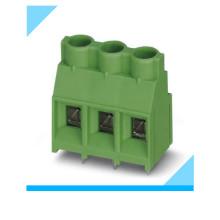 Фабрика 3-Контактный шаг 7.62 мм винтовые PCB Клеммные блоки зеленый