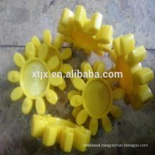 polyurethane rubber spider coupling cushion pad