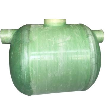 Tanque séptico de FRP subterráneo para tratamiento de aguas residuales