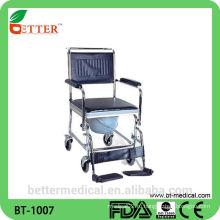 Стальная комодская инвалидная коляска