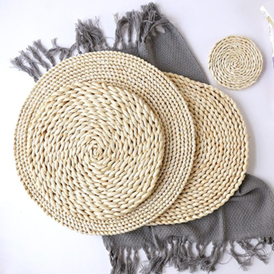 Rattan Placemats Round
