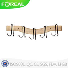 5 Hooks European and American Retro Style Clothes Hooks