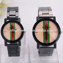 Fashion brand couple lover montre bracelet