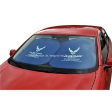 Individuell bedruckt Auto Polyester Sonnensegel