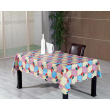 Toalha de mesa de poliéster com revestimento não tecido (TJ0035-A)