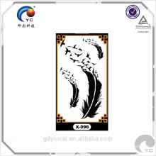 High quality temporary tattoos sticker with competitive price,temporary naked makeup tattoo body sticker