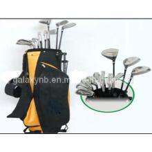 Golf conjunto equipado com saco e clube de golfe