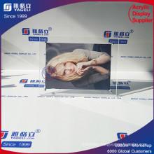 Modern Luxury Acrylic Cube Clear Photo Frame