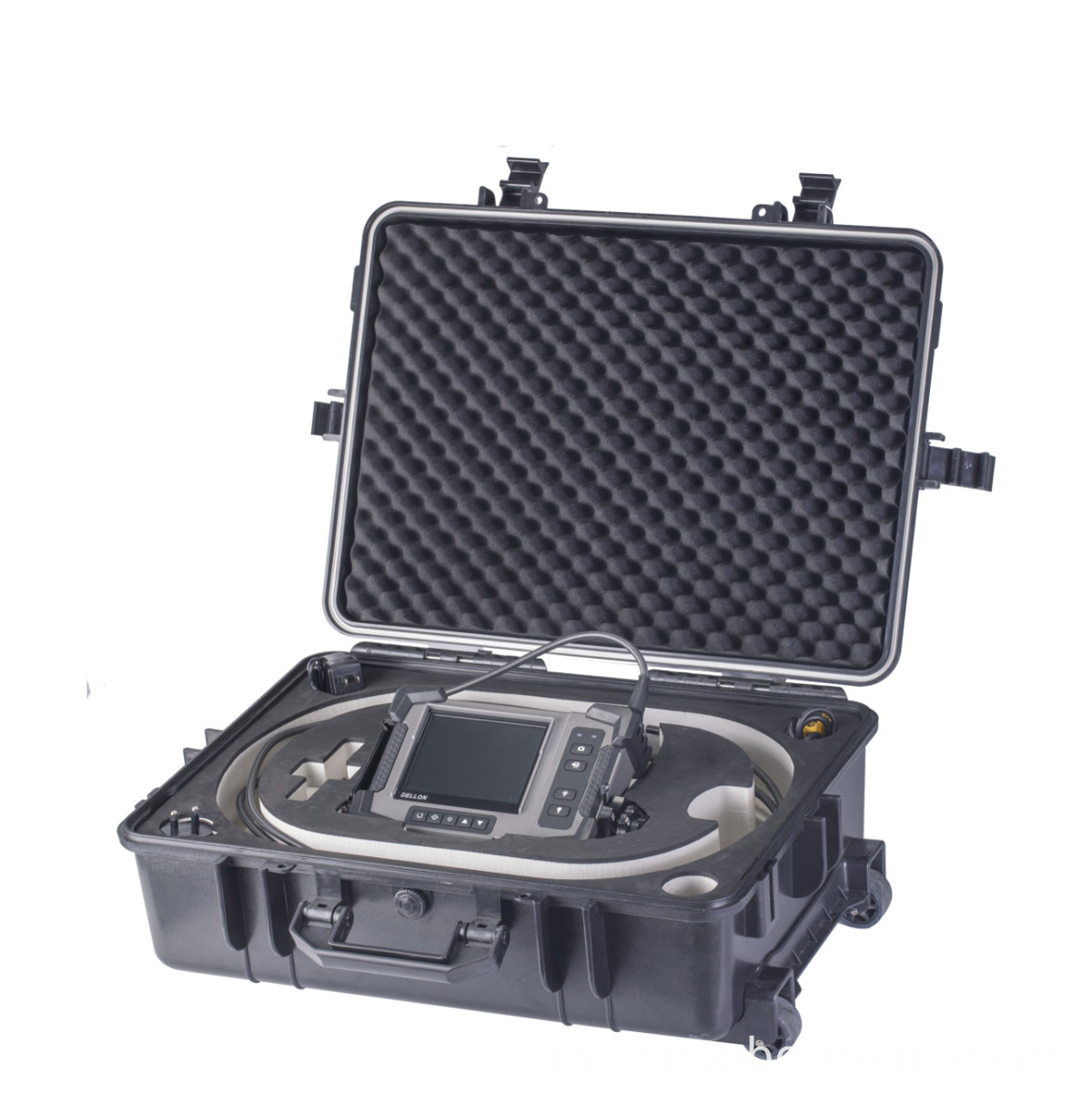 Blockage inspection borescope