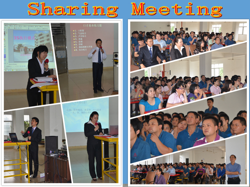 sharing meeting