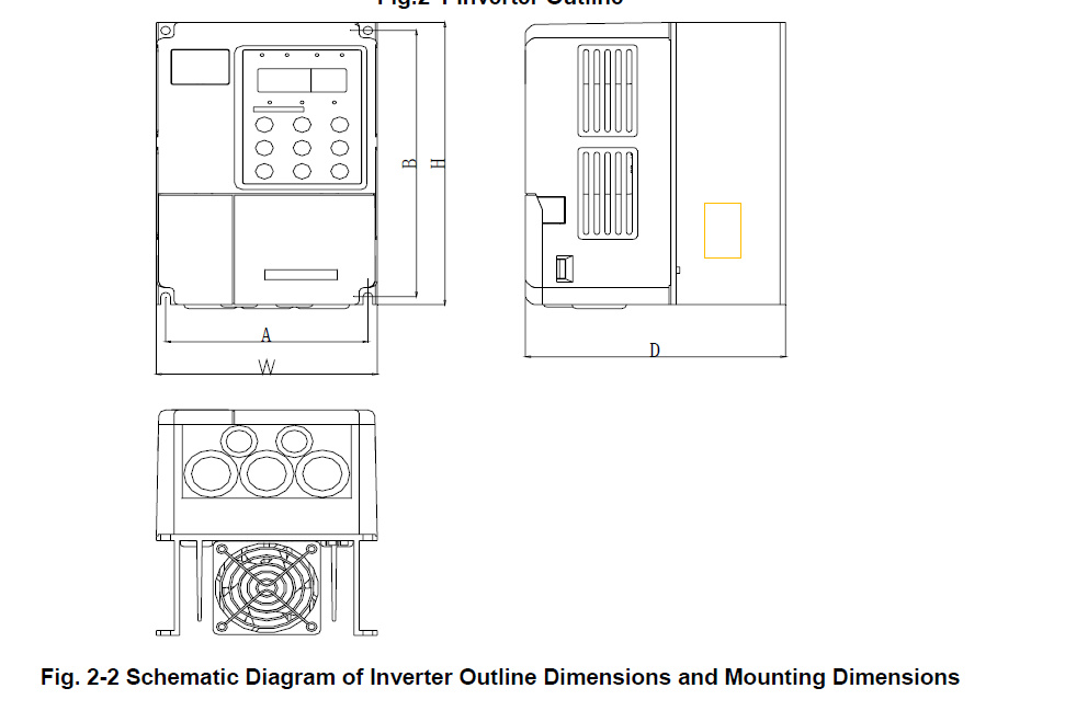 Dimension Drawing And Hole Position Drawing