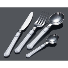 Silver Spoon Plastic Cutlery/Fork/Knife/Spoon