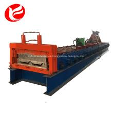Panel de techado oculto conjunto de maquinaria para la fabricación de maquinaria.