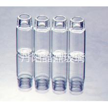 Fournir la série de flacon en verre de forme claire tubulaire de haute qualité