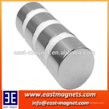 Strong powerful cheap neodymium disc shaped magnets