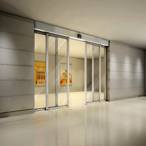 Automatic Sliding Doors untuk Access Partitions
