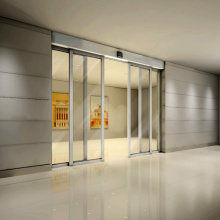 Automatic Sliding Doors with Access Control for Commerial