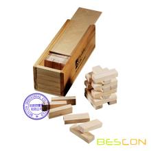 Σετ παιχνιδιού Jenga σε ξύλινο κουτί συσκευασίας