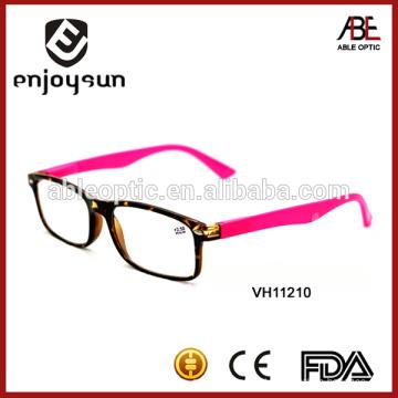 Óculos de leitura clássicos, design da Itália, óculos de óculos de leitura de moda
