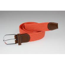 Orange elastic belt colorful golf belt