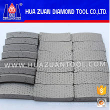 Segment de diamant Arix de foret de carottage