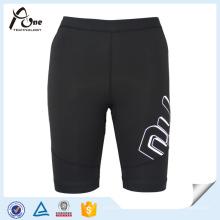 Athletic Shorts Fitness Spandex Manga Compressão Desgaste Mulheres