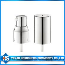 20mm Silver Liquid Cream Dispenser Plastic Pump with Cap