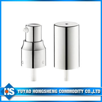 20mm Silber Liquid Cream Dispenser Kunststoff Pumpe mit Cap