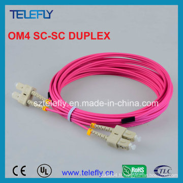 Om4 Sc-Sc Fiber Patch Cord