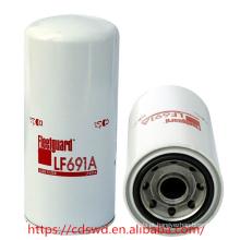 Motor a diesel da Terex geunine fleet-guard filtro de óleo lubrificante LF691A