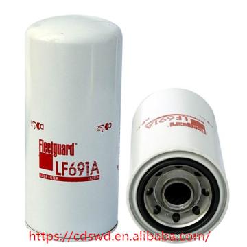 Terex diesel engine geunine fleet-guard lube oil filter LF691A