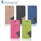 New Arrvial Wallet Leather Case Cover for iPhone 6, Flip Cover Case for iPhone6, Directly Buy From China