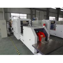 Máquina de hacer bolsas de papel Kraft con inserción