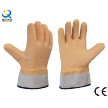 Safety Cuff Latex Fully Coated Work Gloves