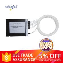 Onu gpon compact wdm filters 16 Channel Single Fiber Cwdm mux demux